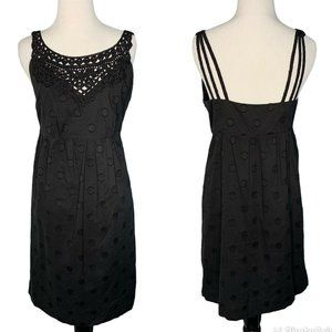 Cynthia Steffe Black Cocktail LBD Dress Size 4 100